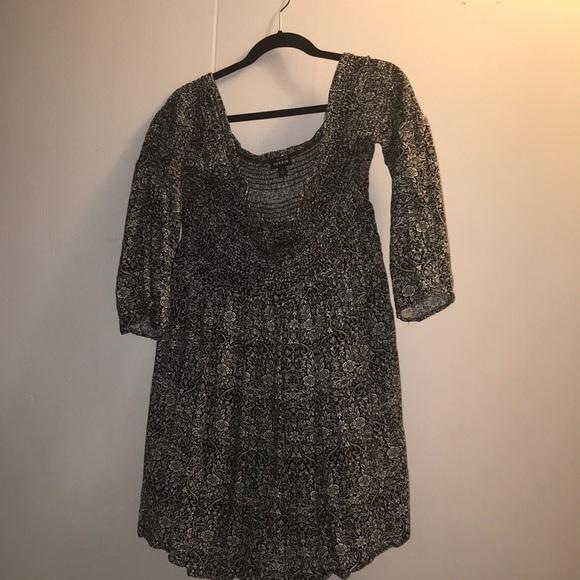 Torrid over the shoulder dress/ tunic top